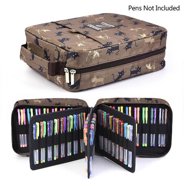 d5758de9cc6c qianshan 202 Colored Pencils Pencil Case / 136 color gel pens Pen ...